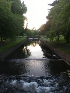 I took this picture on a run one evening; I decided to run along the canal and discovered a beautiful park area surrounding it.